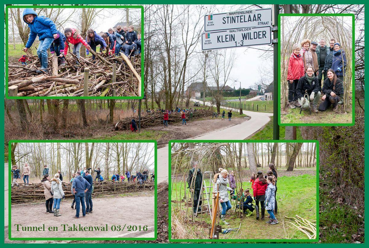 Op donderdag 24  maart hebben de kinderen van de lagere school De Halte in Martenslinde samen met me